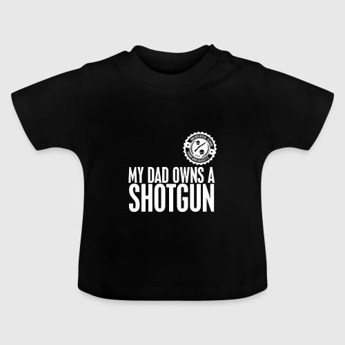 skull white png - Baby T-shirt