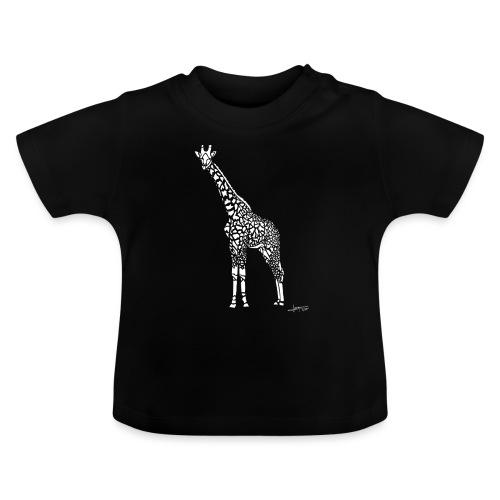 White Girafe by Joaquín - T-shirt Bébé