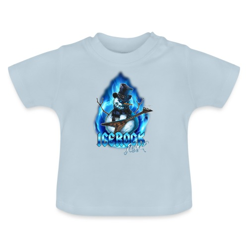 Snowman Evil - Baby T-Shirt
