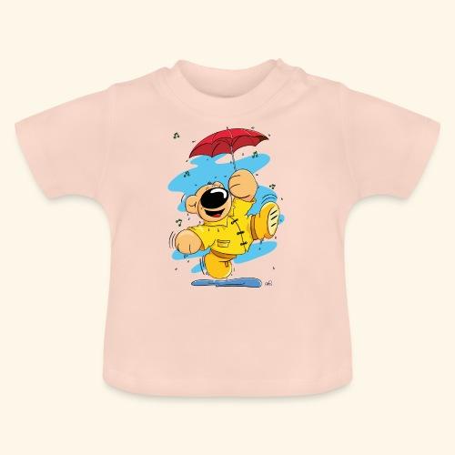 Der Bär tanzt im Regen - Baby T-Shirt