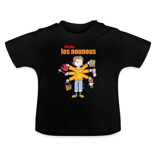 Danger ecole vive les nounous [mp] - T-shirt Bébé