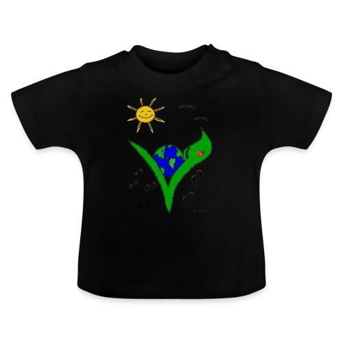 Ein Logo geht um die Welt - Baby T-Shirt
