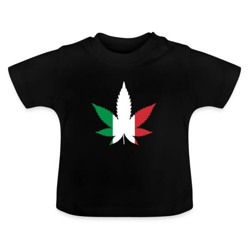 Cannabisblatt ITALIEN ITALIA - Legalize it! Dope - Baby T-Shirt