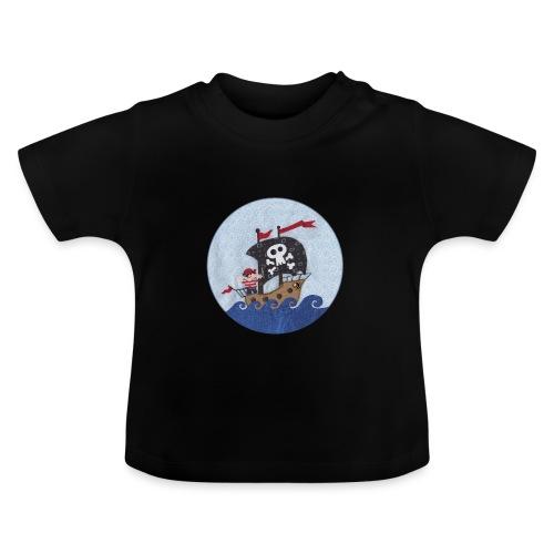 Piratenschiff - Baby T-Shirt