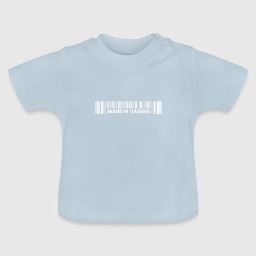 MADEINCHINA WHITE png - Baby T-shirt