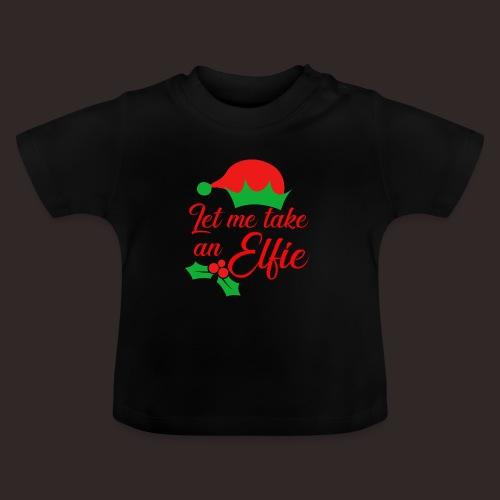 Weihnachten | Elf Mütze Weihnachtself Wortspiel - Baby T-Shirt