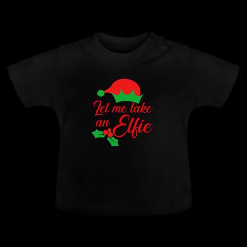 Weihnachten   Elf Mütze Weihnachtself Wortspiel - Baby T-Shirt
