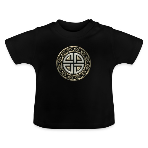 Thor Schildknoten, Schutzsymbol, Keltischer Knoten - Baby T-Shirt