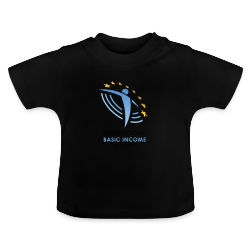 01 ubie on white centered png - Baby T-shirt