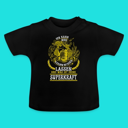 Bier Superkraft - Baby T-Shirt