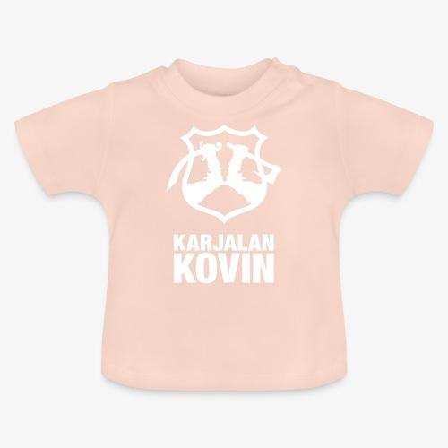 karjalan kovin pysty - Vauvan t-paita