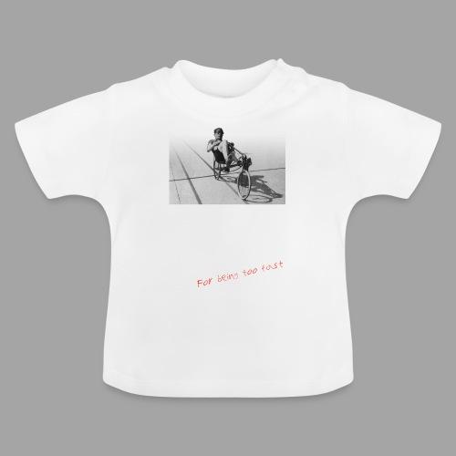 Recumbent Bike Banned since 1934 - Vauvan t-paita