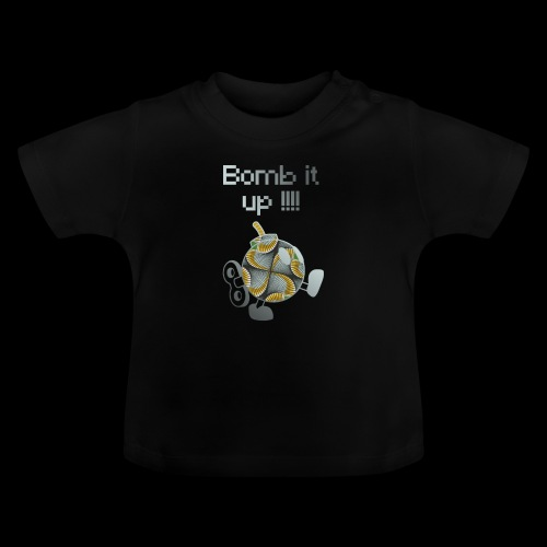 Bomb It Up : Grey Power !!! - T-shirt Bébé