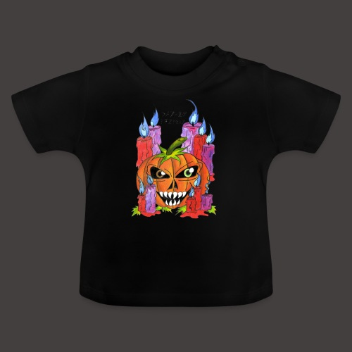CANDLE PUMPKIN - T-shirt Bébé
