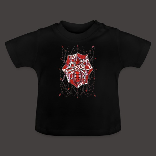Spider Dentelle Red - T-shirt Bébé