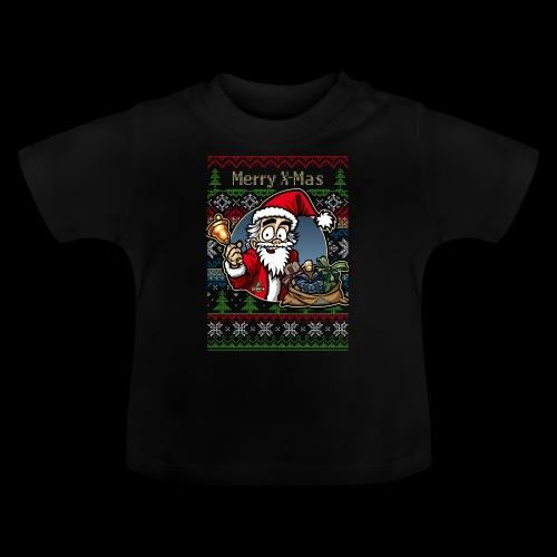 Merry X-Mas Weihnachtsmann - Baby T-Shirt