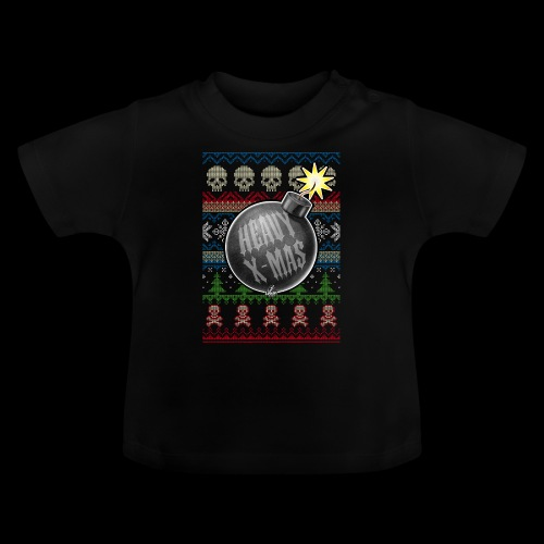 Heavy X-Mas Christbaumkugel-Bombe - Baby T-Shirt
