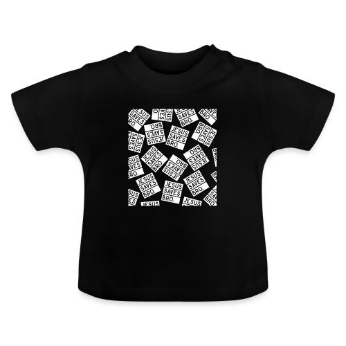 JESUS SAVES BRO - Christlich - Baby T-Shirt