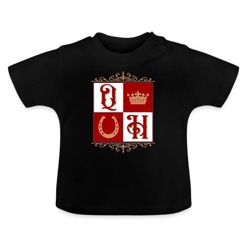 Quater Horse Ornament Pferd Royal König Geschenk - Baby T-Shirt