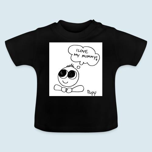 Pupy: I love my mummy - boy - Maglietta per neonato