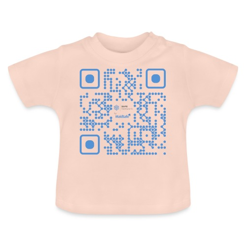 QR Maidsafe.net - Baby T-Shirt