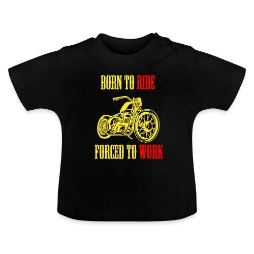 BORN TO RIDE - T-shirt Bébé