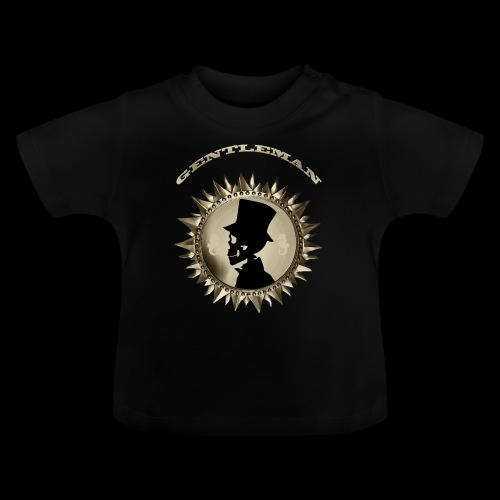 TÊTE DE MORT SILHOUETTE PORTRAIT GENTLEMAN - T-shirt Bébé