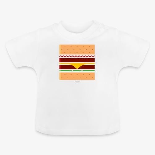 Square Burger - Maglietta per neonato