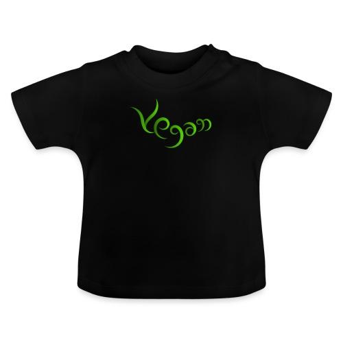Vegaani käsinkirjoitettu design - Vauvan t-paita