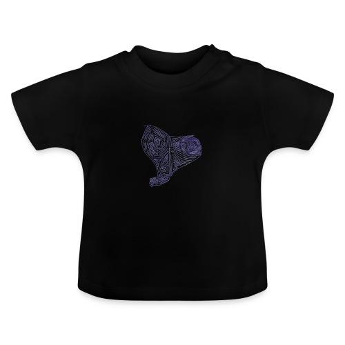 Cuor di Tartaruga Cuore Armato - Maglietta per neonato