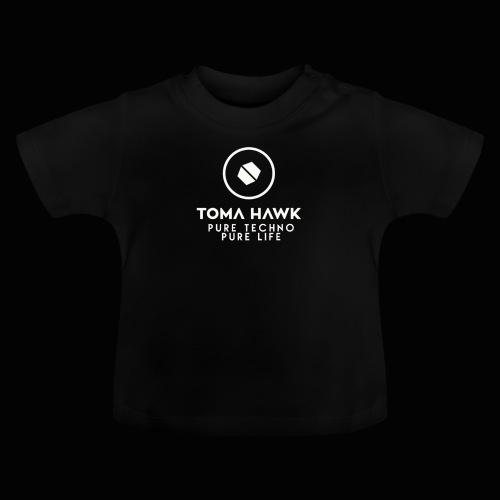 Toma Hawk - Pure Techno - Pure Life White - Baby T-Shirt