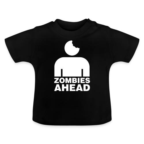 Zombies Ahead - Baby-T-shirt