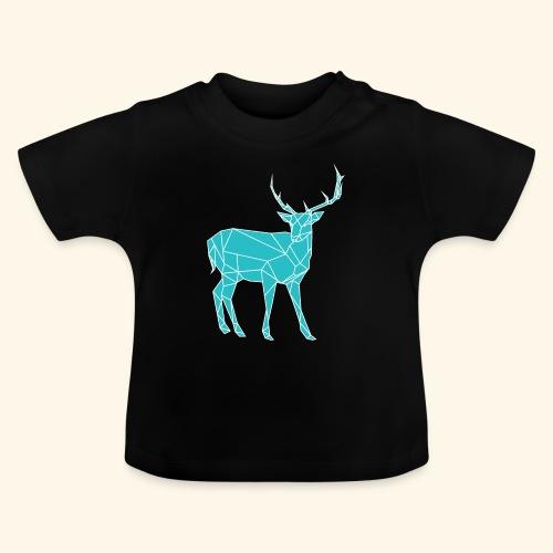 Blue Reindeer - Baby T-Shirt