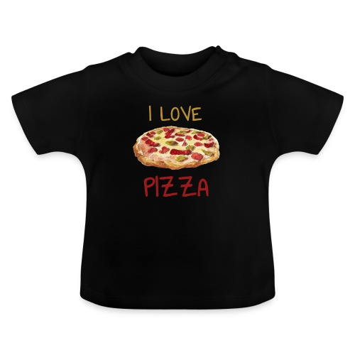 I love Pizza - Baby T-Shirt