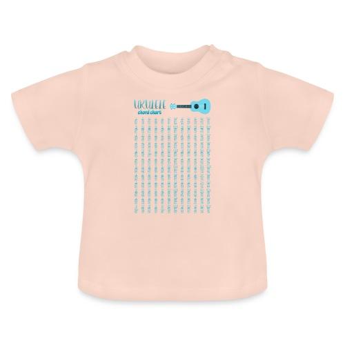 Ukulele chord Chart - Camiseta bebé