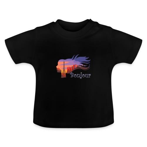Bonjour Paris - Baby T-Shirt