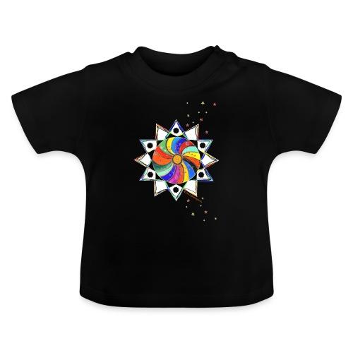 Bunter Stern - Baby T-Shirt