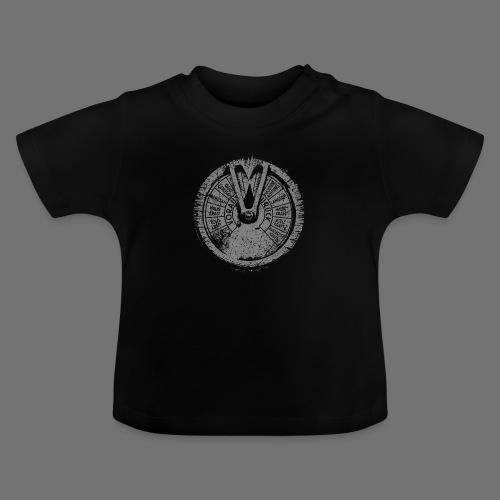 Maschinentelegraph (harmaa oldstyle) - Vauvan t-paita