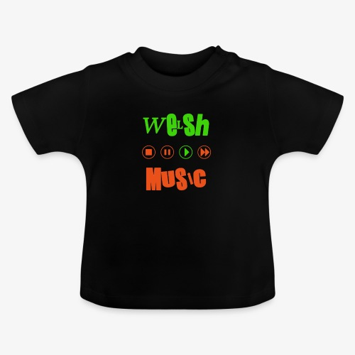 Welsh Music - Baby T-Shirt