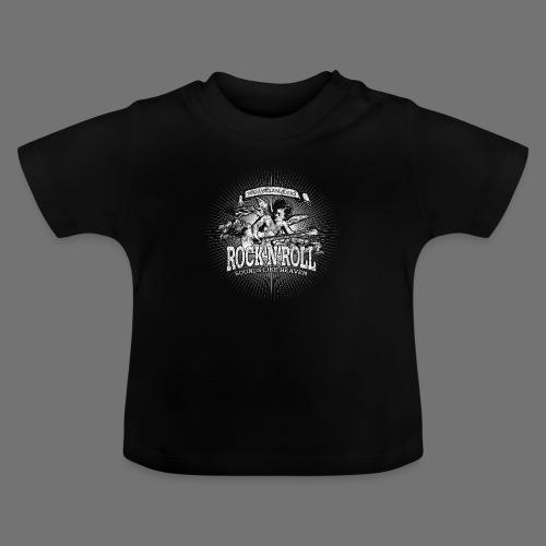 Rock 'n' Roll - Sounds Like Heaven (valkoinen) - Vauvan t-paita
