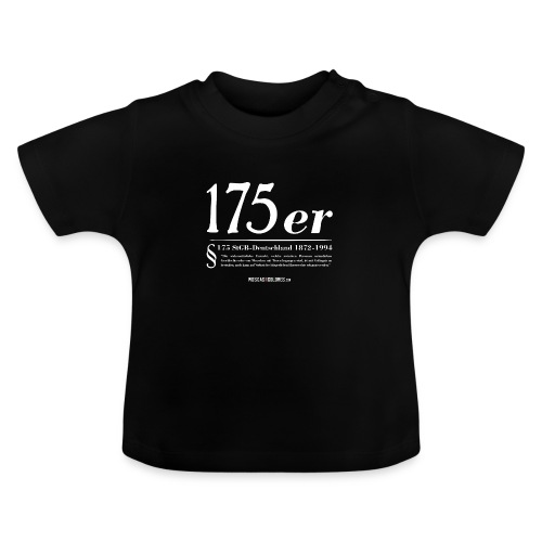 175 er. Protest. White. - Camiseta bebé