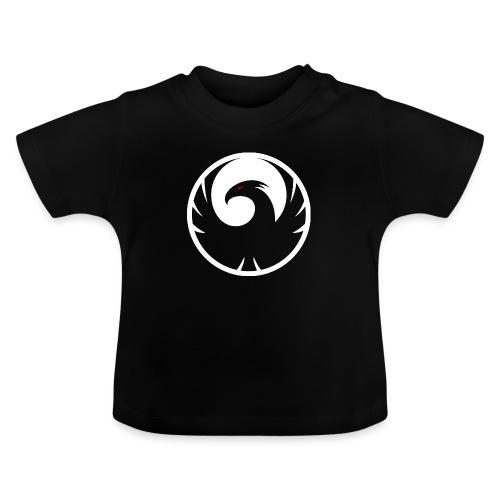 Phönix Logo Schattierung Phoenix weis white rund - Baby T-Shirt