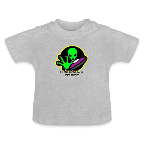 Logo Marcianos - Camiseta bebé