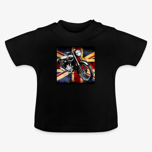 BSA motor cycle vintage by patjila 2020 4 - Baby T-Shirt