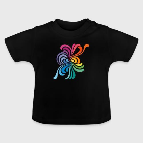 Fleurs multicolore - T-shirt Bébé