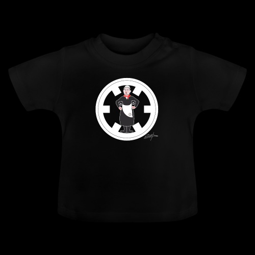 PC33 madre mine records tapes la señora logo - Camiseta bebé