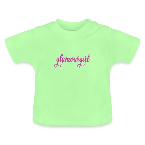 Glamourgirl dripping letters - Baby T-shirt
