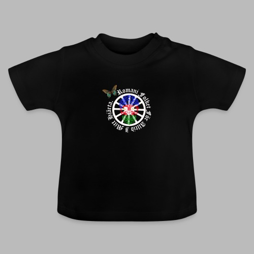 LennyhjulRomaniFolketivitfjerliskulle - Baby-T-shirt