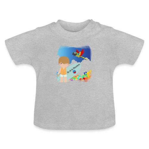 Surf Boy Reunion Island - T-shirt Bébé