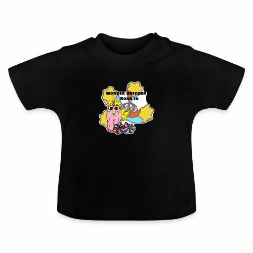 Merveilleuse Licorne née (pour fille) - T-shirt Bébé